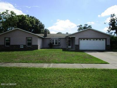 Volusia County Single Family Home For Sale: 1210 Jeffery Drive