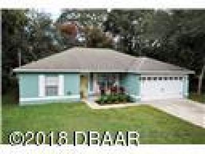 Orange City  Single Family Home For Sale: 1637 13th Street
