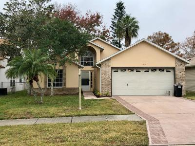Port Orange Single Family Home For Sale: 3823 Long Grove Lane