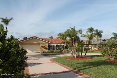 Daytona Beach Single Family Home For Sale: 3018 S Peninsula Drive