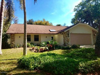 New Smyrna Beach Single Family Home For Sale: 4175 Saxon Drive