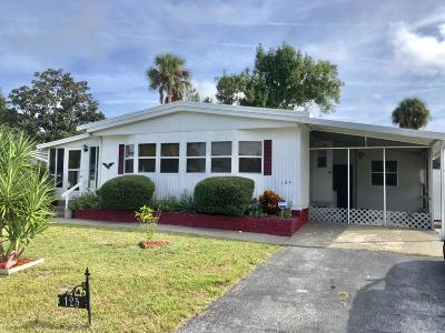 Port Orange Single Family Home For Sale: 125 Barefoot Trail