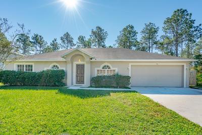 Palm Coast Single Family Home For Sale: 96 Slumber Meadow Trail