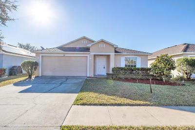 Daytona Beach Single Family Home For Sale: 241 Brass Wood Court