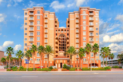 Daytona Beach Condo/Townhouse For Sale: 3245 S Atlantic Avenue #502