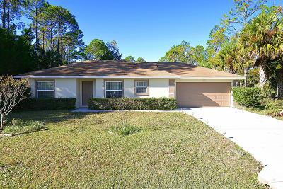 Palm Coast Single Family Home For Sale: 4 Service Tree Place