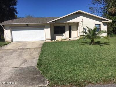 Palm Coast Single Family Home For Sale: 5 Conley Court