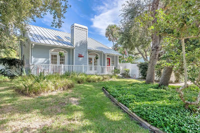 New Smyrna Beach Single Family Home For Sale: 4177 Saxon Drive