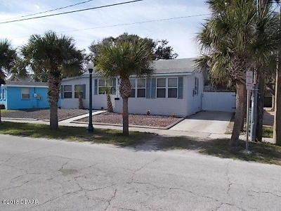 Daytona Beach Single Family Home For Sale: 110 S Hollywood Avenue