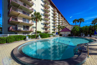 Daytona Beach Condo/Townhouse For Sale: 100 Silver Beach Avenue #522