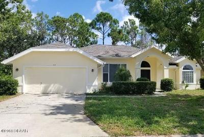 Plantation Bay Single Family Home For Sale: 611 Moss Creek Drive