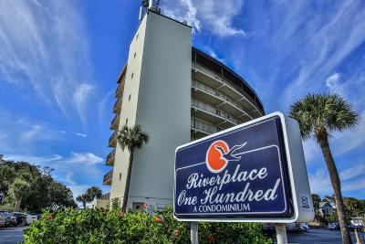 Daytona Beach Condo/Townhouse For Sale: 100 Silver Beach Avenue #812