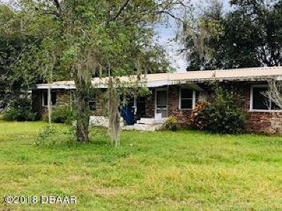 Daytona Beach Single Family Home For Sale: 1111 Buena Vista Drive