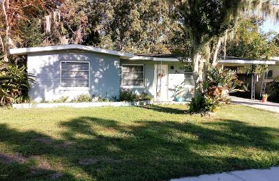 New Smyrna Beach Single Family Home For Sale: 829 Turnbull Street