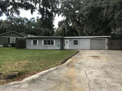 Ormond Beach Single Family Home For Sale: 220 Coquina Avenue