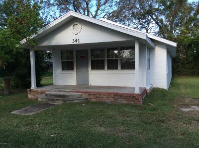 Daytona Beach Single Family Home For Sale: 341 Fulton Street