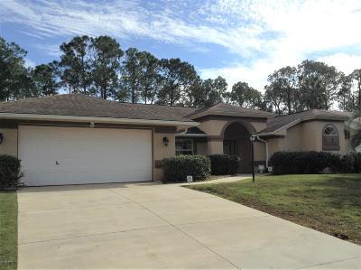 Palm Coast Single Family Home For Sale: 80 Brookside Lane