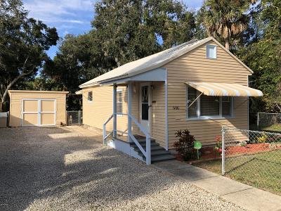 New Smyrna Beach Single Family Home For Sale: 646 Dora Street