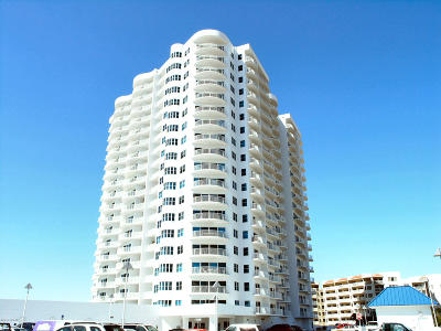 Daytona Beach Shores Condo/Townhouse For Sale: 2 Oceans West Boulevard #1203