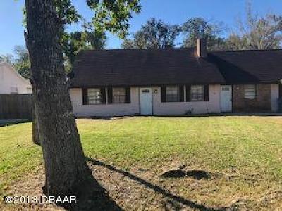 Daytona Beach Single Family Home For Sale: 1480 Vine Street