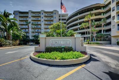 Daytona Beach Shores Condo/Townhouse For Sale: 4 Oceans West Boulevard #708D