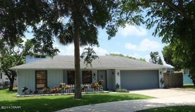 New Smyrna Beach Single Family Home For Sale: 43 Cunningham Drive