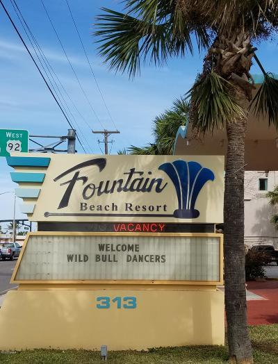 Daytona Beach Condo/Townhouse For Sale: 313 S Atlantic Avenue #6120