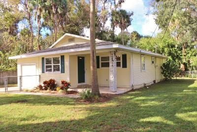 Ormond Beach FL Single Family Home For Sale: $159,000