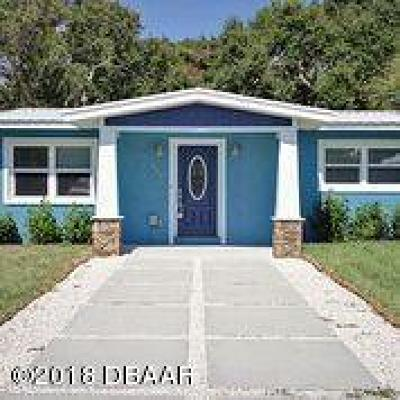 New Smyrna Beach Single Family Home For Sale: 808 E 24th Avenue