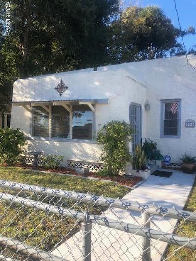 Daytona Beach Single Family Home For Sale: 334 Taylor Avenue