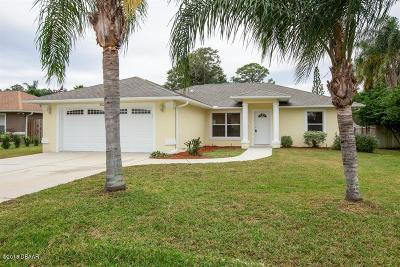 New Smyrna Beach Single Family Home For Sale: 2526 Chester Avenue