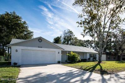 Port Orange Single Family Home For Sale: 949 Sand Crest Drive