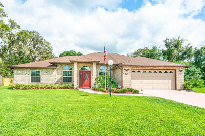 Port Orange Single Family Home For Sale: 512 Sun Lake Drive