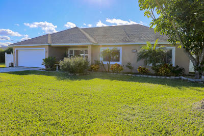 Port Orange Single Family Home For Sale: 116 Venetian Way
