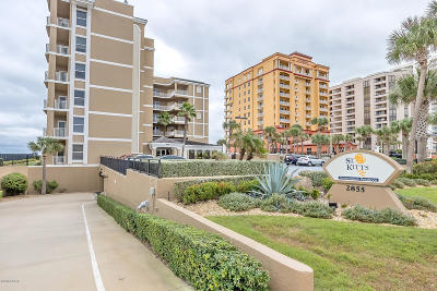 Daytona Beach Condo/Townhouse For Sale: 2855 S Atlantic Avenue #101