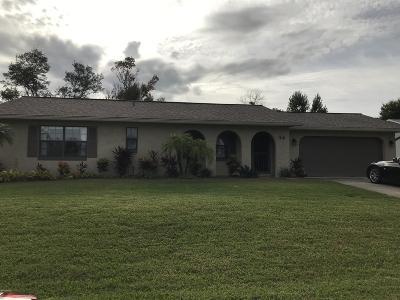 Palm Coast Single Family Home For Sale: 44 Fernwood Lane
