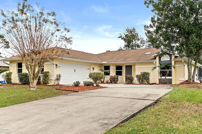Palm Coast Single Family Home For Sale: 12 Woodholme Lane