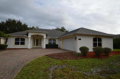 Port Orange Single Family Home For Sale: 1639 Promenade Circle