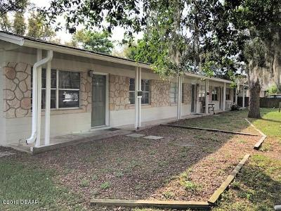 Volusia County Multi Family Home For Sale: 5121 Pineland Avenue