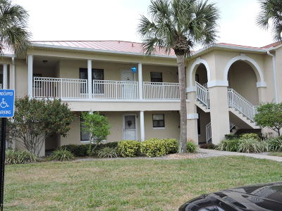 New Smyrna Beach Condo/Townhouse For Sale: 406 Bouchelle Drive #205