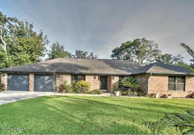 Port Orange Single Family Home For Sale: 6204 Oak River Terrace