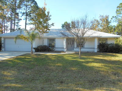 Palm Coast Single Family Home For Sale: 66 Birchwood Drive