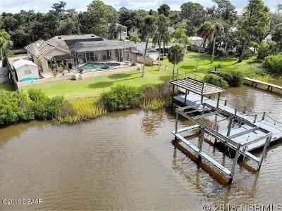 New Smyrna Beach Single Family Home For Sale: 2936 Sunset Drive