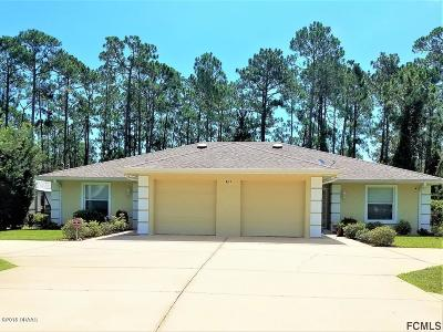 Palm Coast Multi Family Home For Sale: 8 Wellham Lane