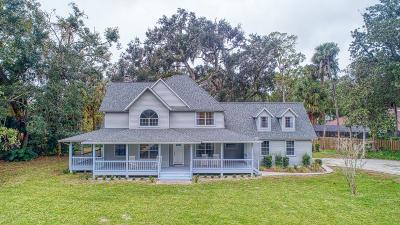 Halifax Plantation Single Family Home For Sale: 3938 Tano Drive