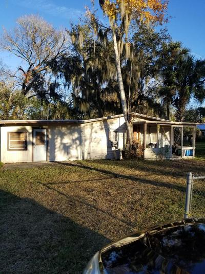 New Smyrna Beach Single Family Home For Sale: 1609 Elizabeth Street