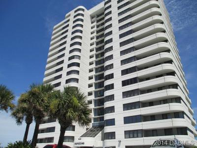 Daytona Beach Condo/Townhouse For Sale: 1420 N Atlantic Avenue #801