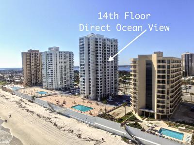 Daytona Beach Shores Condo/Townhouse For Sale: 3043 S Atlantic Avenue #1405