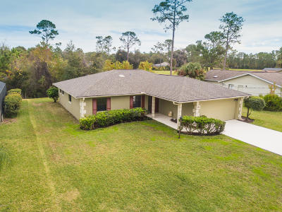 Palm Coast FL Single Family Home For Sale: $225,000
