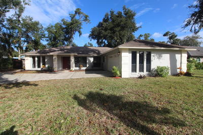 Port Orange Single Family Home For Sale: 497 Oakland Park Boulevard